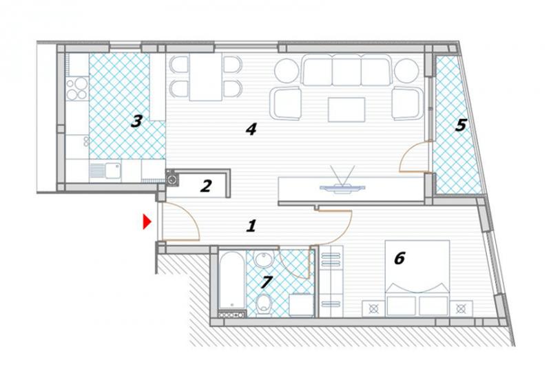Odlična organizacija prostora u stanovima